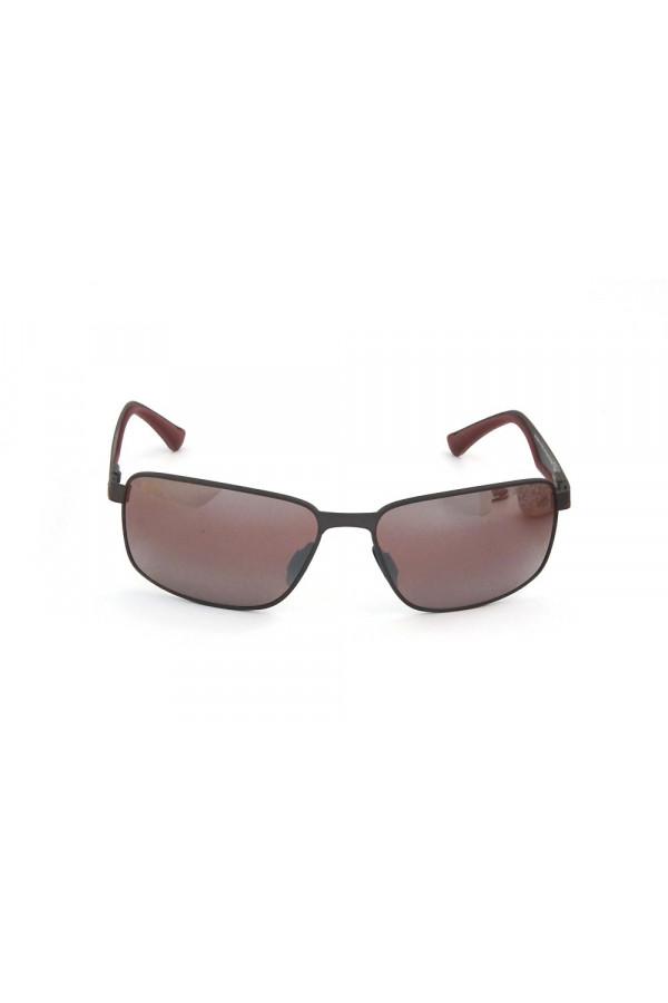 Maui Jim Backswing Sonnenbrille Dunkles Gunmetal Burgundrot STG-BG Polarisiert 61mm zJNklJYiy